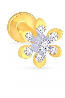MALABAR GOLD AND DIAMONDSWomens Diamond Nosepin UINSP00160A