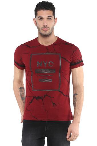LIFE -  MaroonT-shirts - Main
