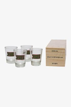 Conical Transparent Shot Glasses with Jenga