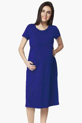 NINE MATERNITY Maternity Nursing Dress - 201716368