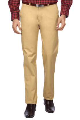 ARROW SPORTMens Flat Front Slim Fit Solid Chinos - 9368441