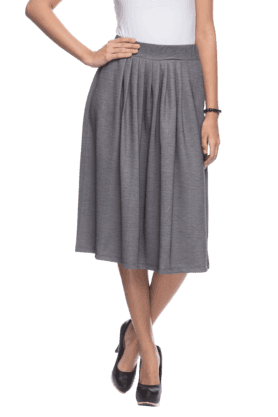 FEMINA FLAUNT Women Knee Length Flared Skirt