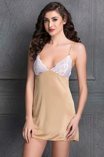 Babydoll With Back Satin