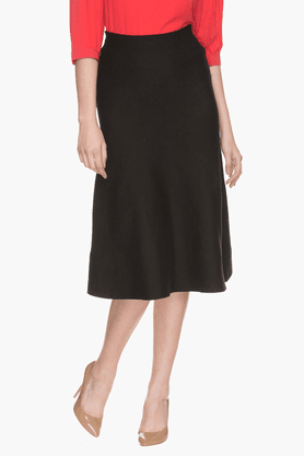 FRATINI WOMAN Womens Solid A-line Skirt