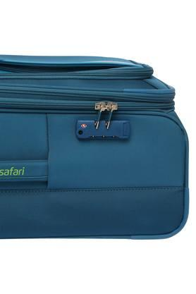 Unisex 1 Compartment Zip Closure Soft Trolley