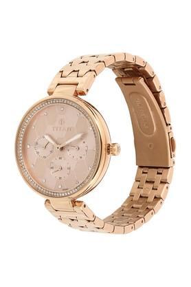 Womens Analogue Metallic Watch - 95059WM01