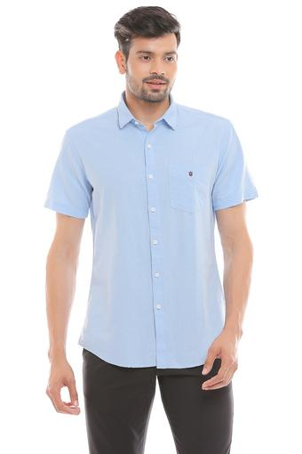 LOUIS PHILIPPE SPORTS -  Light Blue Casual Shirts - Main