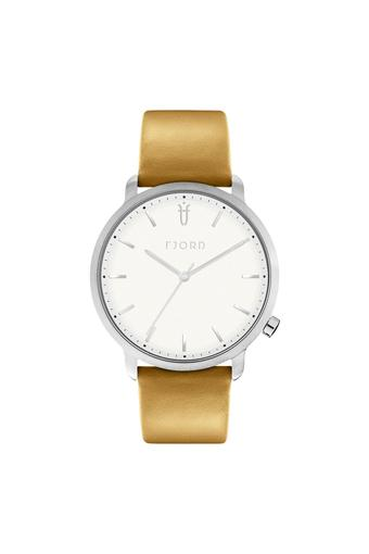 Womens HEKLA White Dial Leather Analogue Watch - 413881