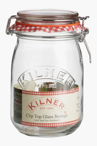 Cliptop Round Jar (1 Litre)