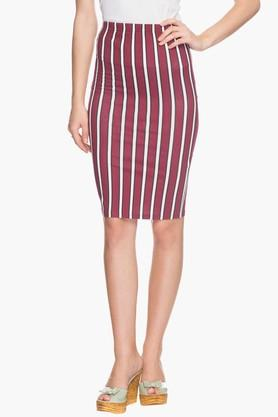 ONLY Womens Striped Skirt (Shop For Rs.5,000 & Get Rs.1,000 Off)