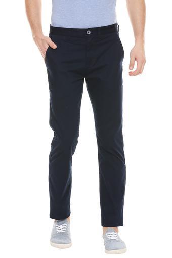 STOP -  NavyFormal Trousers - Main