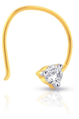 MALABAR GOLD AND DIAMONDSWomens Mine Diamond Nosepin