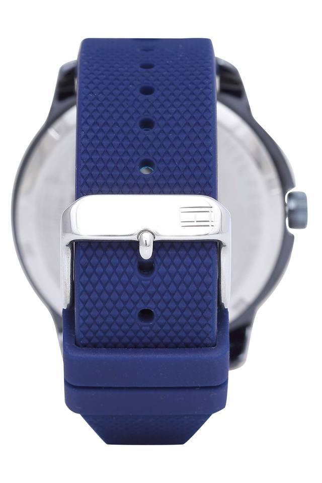 Mens Blue Dial Analogue Watch - TH1791621