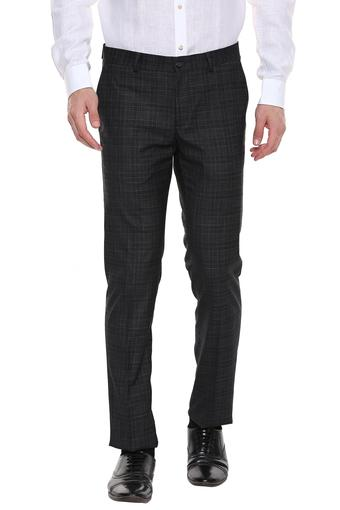 BLACKBERRYS -  Charcoal Formal Trousers - Main