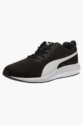 PUMA Mens Mesh Lace Up Running Shoes - 201583802