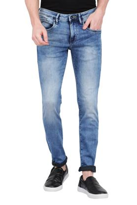 Mens 5 Pocket Mild Wash Jeans (Jackson Fit)