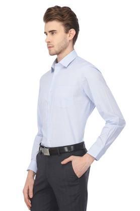 Mens Regular Fit Printed Formal Shirt