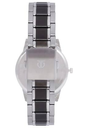 Mens Two Tone Dial Stainless Steel Analogue Watch - 1806KM01