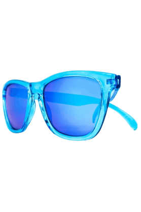 KNOCKAROUND Classic Premium Monochrome Unisex Sunglasses Blue-PRMC1003 (Use Code FB20 To Get 20% Off On Purchase Of Rs.1800)