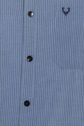 ALLEN SOLLY - Light BlueCasual Shirts - 4