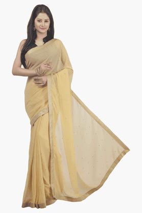 JASHNWomens Solid Saree - 201502296