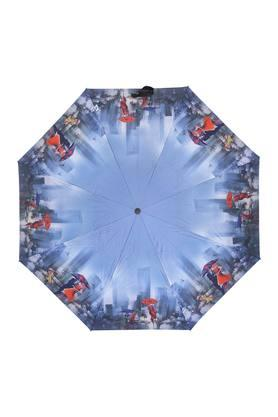 Unisex Printed 3 Fold Umbrella
