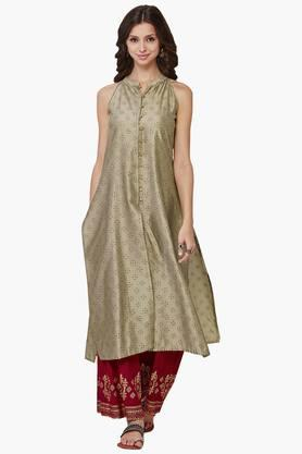 GLOBAL DESI Women Sleeveless Printed Kurta