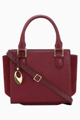 Buy PHIVE RIVERS Womens Leather Zipper Closure Tote Handbag ... 984376b10037c