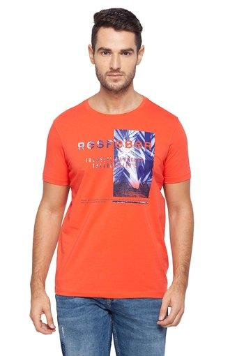 SPYKAR -  CoralT-Shirts & Polos - Main