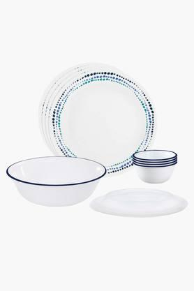 CORELLE Ocean Blues 10 Pcs Dinner Set