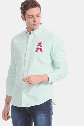 AEROPOSTALE - GreenCasual Shirts - 3