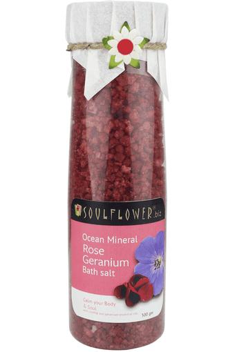 Rose Geranium Bathsalt