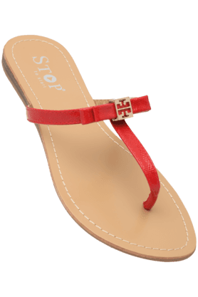 STOP Womens Daily Wear Slipon Flat Chappal