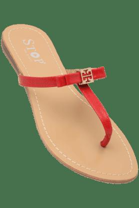 STOPWomens Daily Wear Slipon Flat Chappal