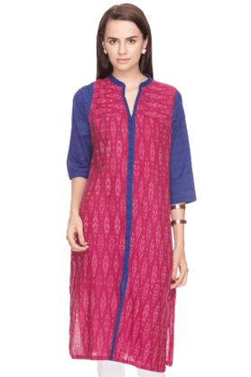 BIBAWomens Printed Churidar Suit - 200892277