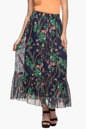 FRATINI WOMAN Womens Printed Long Skirt  ...