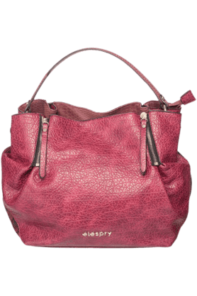 ELESPRYWomens PU Satchel Handbag (Use Code FB20 To Get 20% Off On Purchase Of Rs.1800) - 200860344