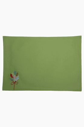 MASPARFlower Green Placemat - Set Of 6