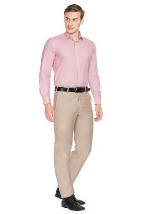 RAYMOND - FawnFormal Trousers - 3