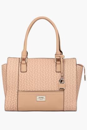 GUESSWomens Bradbury Zipper Closure Tote Handbag