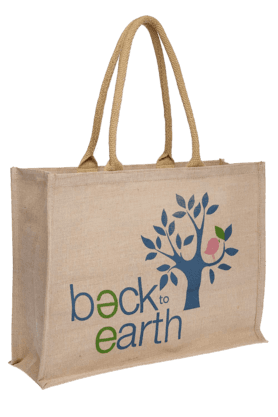 Basic Jute Bag - Large