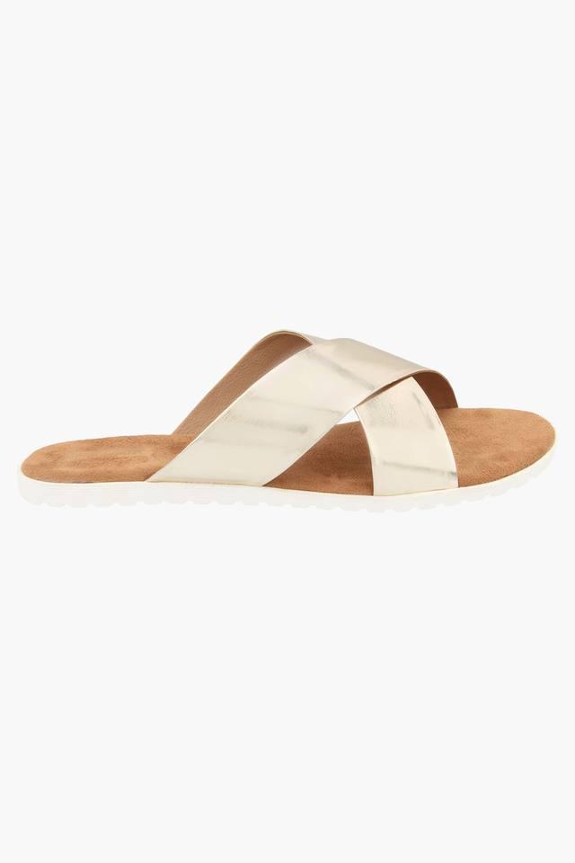 Womens Daily Wear Slipon Flat Sandals