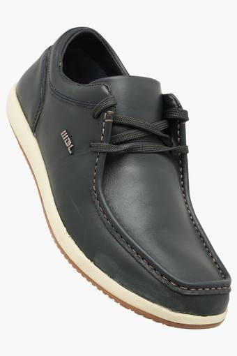 82046e7ef17c Mens Leather Lace Up Casual Shoes