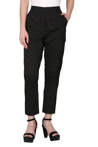 VAN HEUSEN -  Black Pants - Main