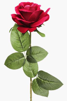 Buy IVY Single Rose Flower Stem Pink Online | Shoppers Stop