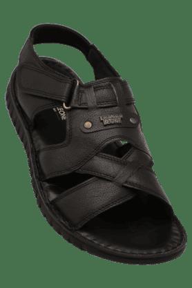 FRANCO LEONEMens Daily Wear Velcro Closure Sandal