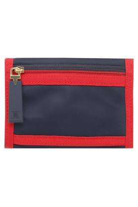 Womens Velcro Closure 2 Fold Wallet