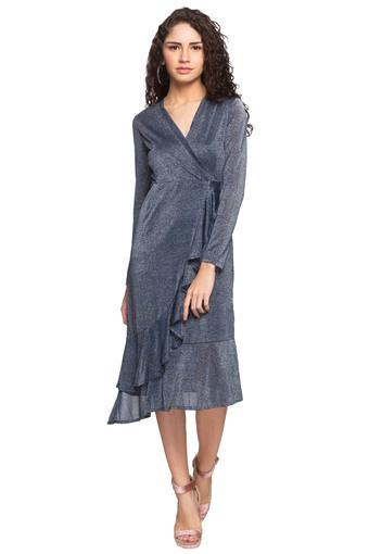 RS BY ROCKY STAR -  GreyPvt Women Western Buy 1 & Get 2nd At 20% Off  - Main