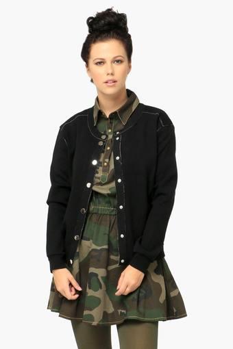 Remanika Women's Slim Fit Solid Jacket