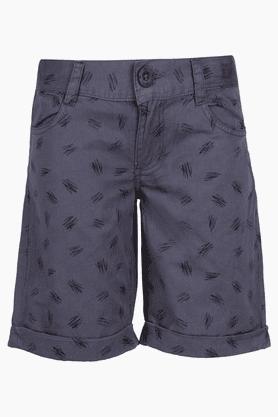 Boys Cotton Printed Shorts